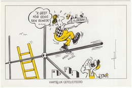 BOUW- EN HOUTBOND FNV - Afdeling Utrecht - 'Hartelijk Gefeliciteerd, 'k Geef Nog Eens Een Rondje ...' - (Holland) - 1989 - Syndicats