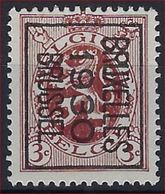 HERALDIEKE LEEUW Nr. 278 België Typografische Voorafstempeling Nr. 222B BRUXELLES 1930 BRUSSEL ! - Préoblitérés