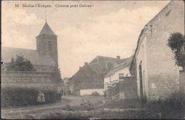 Meslin L'Evêque.  Chemin Pont Delvau  (défauts) - Ath