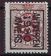 HERALDIEKE LEEUW Nr. 278 België Typografische Nr. 221B  ANTWERPEN  1930  ANVERS Met Curiositeit KLEURBOORD! - Typo Precancels 1929-37 (Heraldic Lion)