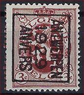 HERALDIEKE LEEUW Nr. 278 België Typografische Nr. 201B  ANTWERPEN  1929  ANVERS Met Curiositeit KLEURBOORD! - Typo Precancels 1929-37 (Heraldic Lion)