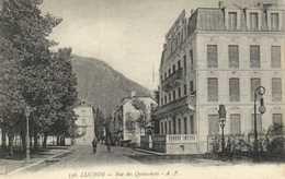 LUCHON  Rue Des Quinconces RV - Luchon