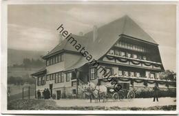 Haslach - Hansjakob-Haus - Pferdekutsche - Foto-AK - Verlag Emil Grüninger Haslach - Haslach