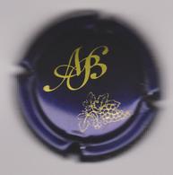 Capsule Champagne BAGNOST A ( 21c ; Bleu Et Or ) {S23-20} - Champagnerdeckel