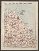 CARTE PLAN 1930 - BRETAGNE - SAINT BRIEUC ÉTABLES SAINT QUAY PAIMPOL TRÉGUIER GUINGAMP - Topographical Maps