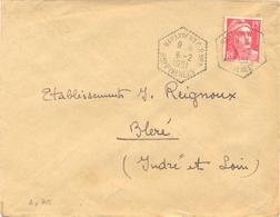 PYRENEES ATLANTIQUES : POSTE AUTOMOBILE RURALE : C.P. N° 2 NAVARRENX Bses PYRENEES TàD Du 6-1-1951 - Postmark Collection (Covers)