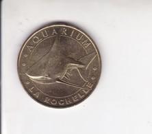 Jeton Médaille Monnaie De Paris MDP Aquarium La Rochelle 2008 - Monnaie De Paris