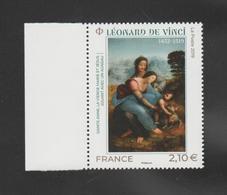 """FRANCE / 2019 / Y&T N° 5355 ** : """"Sainte Anne, Vierge Marie & Jésus"""" (Léonard De Vinci) X 1 BdF G - Neufs"""