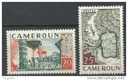 """Cameroun YT 308 & 309 """" Production Bananière """" 1959 Neuf** - Unused Stamps"""