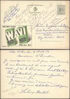 """Publibel N°1183 """"Wavi"""" Voyagé De Solre-S-Sambre (1953) > Mons. - Enteros Postales"""