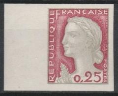 France N°1263b** Luxe BdF Non Dentelé 1960 - Francia