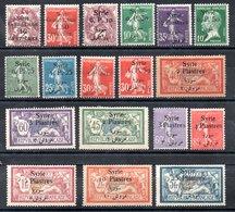 Syrie  Syrien Y&T 88*, 95*, 126*, 128*, 131*, 132*, 132a*, 134* - 142* - Syria (1919-1945)