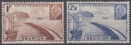 N° 178 Et N° 179 - X X - ( C 435 ) - La Isla De La Reunion (1852-1975)