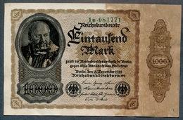 Pick82a  Ro81b  DEU-92c - 1000 Mark 1922 ** AUNC Pas De Plis !!! ** - [ 3] 1918-1933 : République De Weimar