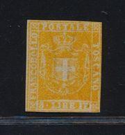 ***REPLICA*** Of Tuscany 1860 - 3L Ocher, Unused, Sassone 23 - Toscane