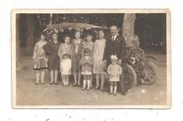 Voiture Fleurie -Femmes - Enfants- Les Années Folles Carte Photo   (D.7224) - Cartes Postales