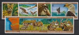 Sénégal - 1976 - N°Yv. 424 à 429 - Faune / Basse Casamance - Neuf Luxe ** / MNH / Postfrisch - Senegal (1960-...)