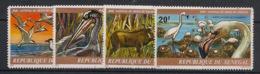 Sénégal - 1978 - N°Yv. 488 à 491 - Faune / Delta Du Saloum - Neuf Luxe ** / MNH / Postfrisch - Senegal (1960-...)
