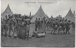 Auguste Béchaud - Congo Français - Tam-tam De Sanghos - - Congo Français - Autres