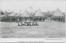Auguste Béchaud (attribué à) - Congo Français - Vue Générale D'un Tam-tam Chez Les Massabas - - Congo Français - Autres