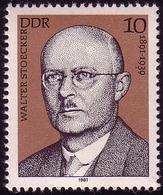 2592 Persönlichkeiten Arbeiterbewegung 1981 Stoecker ** - DDR