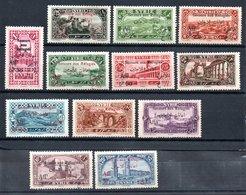 Syrie  Syrien Y&T 167* - 178* - Syria (1919-1945)