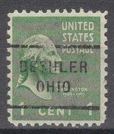 USA Precancel Vorausentwertung Preo, Locals Ohio, Deshler 712 - United States