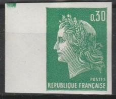 France N°1611** Luxe BdF Non Dentelé 1969 - France