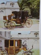Carriage House Lancut Muzeum Poland Leporetto  / Fold Cards - Museum