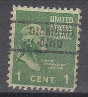 USA Precancel Vorausentwertung Preo, Locals Ohio, Diamond 743 - United States