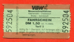 Germany 1993. City Hamburg. - Bus