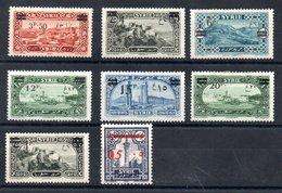 Syrie  Syrien Y&T 179*, 180* (Maury 185 I*), 184* - 186*, 187* (Maury 185 II*), 188* - Syria (1919-1945)