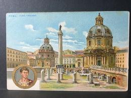 ROMA.........Foro Traiano......Ed. Fiamma.....firmata Facciola - Roma (Rome)