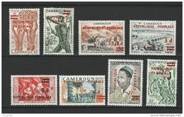"""Cameroun YT 320 à 327 """" Réunification """" 1961 Neuf** - Camerún (1960-...)"""
