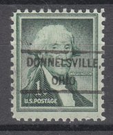 USA Precancel Vorausentwertung Preo, Locals Ohio, Donnelsville 807 - United States