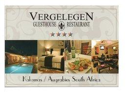 CPM - AFRIQUE DU SUD - RESTAURANT VERGELEGEN / KAKAMAS / AUGRABIES - Hotels & Restaurants