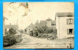 FR190, Fontenois-les-Montbozon, Maison Chantcey, Animée, Circulée 1911 Timbre Décollé - Francia