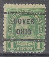 USA Precancel Vorausentwertung Preo, Locals Ohio, Dover 632-232 - United States