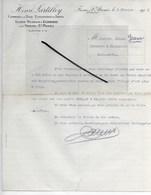 70 - Haute-saône - FRESNE-ST-MAMES - Facture LARTILLEY - Scierie, Commerce De Bois, Exploitations Fores - 1912 - REF 289 - France