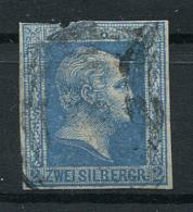 Preussen: 2 Sgr. MiNr. 7 1857 Gestempelt / Used / Oblitéré - Prussia