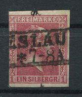 Preussen: 1 Sgr. MiNr. 10 1858 Gestempelt / Used / Oblitéré - Prussia