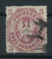 Preussen: 3 Pfe. MiNr. 19 1865 Gestempelt / Used / Oblitéré - Prussia