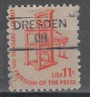 USA Precancel Vorausentwertung Preo, Locals Ohio, Dresden 835,5 - United States