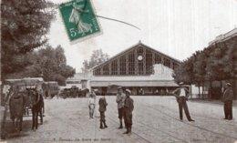 CPA  TUNISIE---LA GARE DU NORD---1909 - Tunisie