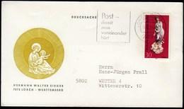 Germany Lorch Wurtt 1974 / Venus, Art, Porcelain, Astronomy - [5] Berlijn