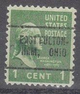USA Precancel Vorausentwertung Preo, Locals Ohio, East Fultonham 705 - United States
