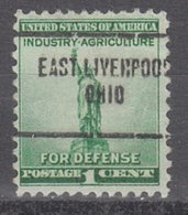 USA Precancel Vorausentwertung Preo, Locals Ohio, East Liverpool 704 - United States