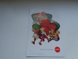 "Origineel Knipsel ( 2449 ) Uit Tijdschrift "" Geographic Magazine "" 1960 : Sancta Claus  Père Noël  Kerstman ( 25 X 17 ) - Afiches Publicitarios"