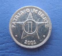 CUBA 1 CENTAVO 2001 AUNC - Cuba