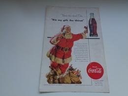 "Origineel Knipsel ( 2451 ) Uit Tijdschrift "" Geographic Magazine "" 1954 : Sancta Claus  Père Noël  Kerstman ( 25 X 17 ) - Afiches Publicitarios"